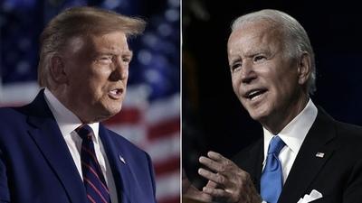 Trump, más decidido, y Biden, con reservas, celebraron el anuncio de Moderna