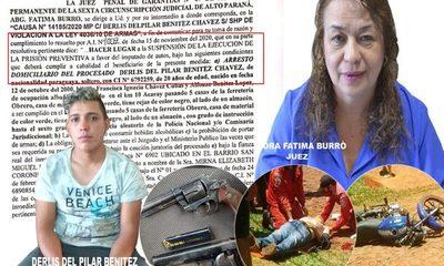 Jueza Burró liberó en menos de 24 hs a uno de los presuntos motochorros que se enfrentó con policías – Diario TNPRESS