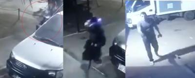 Crónica / (VIDEO) A balazos guardia evitó el robo de un comercio