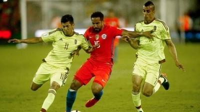 HOY / Venezuela buscará sus primeros puntos ante Chile, su bestia negra