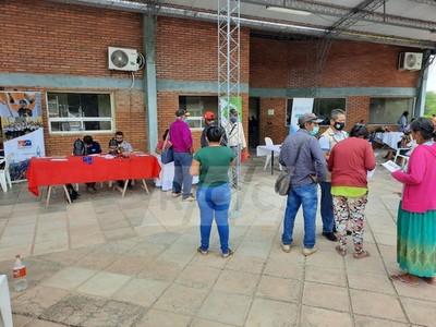 Mcal. Estigarribia: Inició con buena participación la Jornada de Gobierno