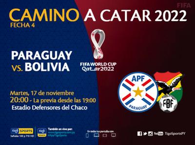 La previa del partido Paraguay vs. Bolivia