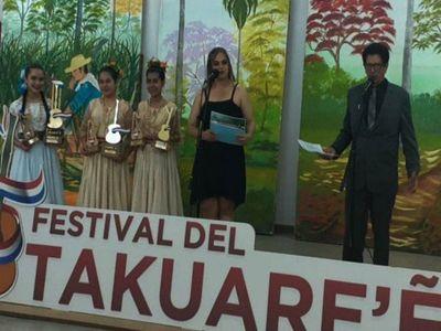 Artistas de Caaguazú ganan el Oro del Takuare'ê 2020