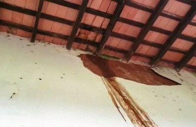 Temporal complicó aún más situación de la iglesia de San Joaquín