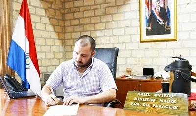 Mades envió a presidencia el Proyecto del Código Ambiental Paraguayo