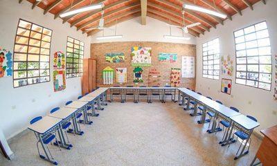 40 instituciones educativas de San Pedro con nueva infraestructura