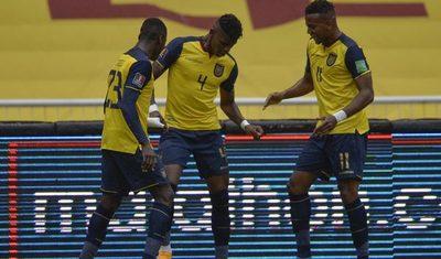 Tremendo baile de Ecuador ante Colombia