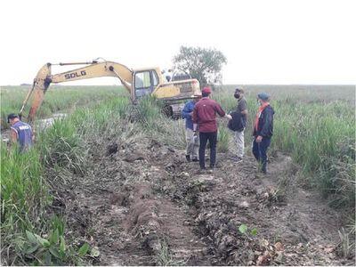 Arroyo Yabebyry se recupera de a poco luego de desvío de afluente