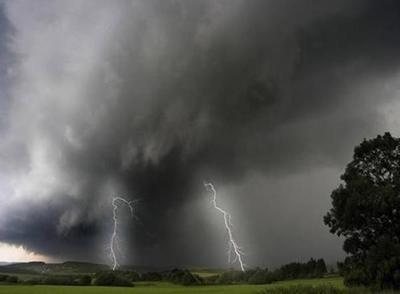 Advierten sobre posibles tormentas en el Norte del país