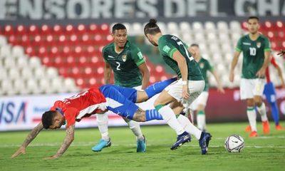 Empate con sabor a derrota de Paraguay ante Bolivia
