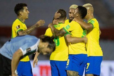 Brasil le gana a domicilio a Uruguay