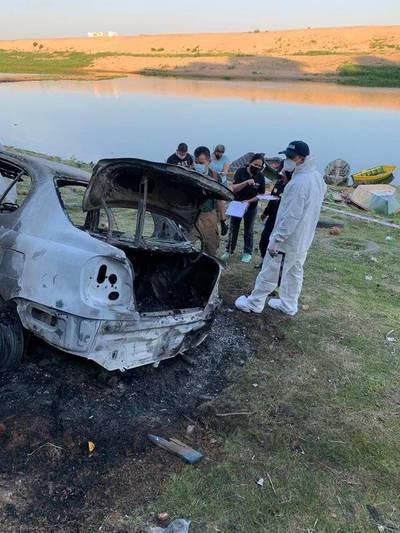 Estudio odontológico forense revela identidad del cuerpo hallado en un auto quemado
