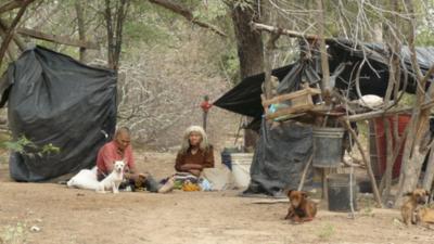 Acuerdan trabajos para solucionar la problemática de tierra indígenas