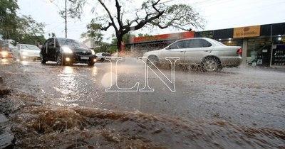 La Nación / Pronostican lluvias y ocasionales tormentas para este miércoles