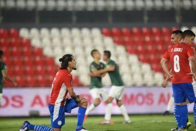 Paraguay decepciona y no pasa del empate ante Bolivia