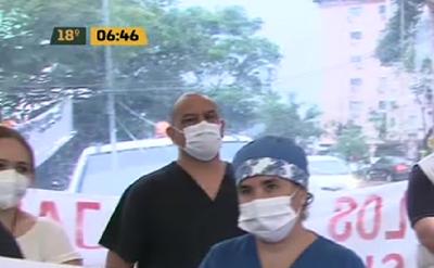 Funcionarios del Hospital de Clínicas van a huelga