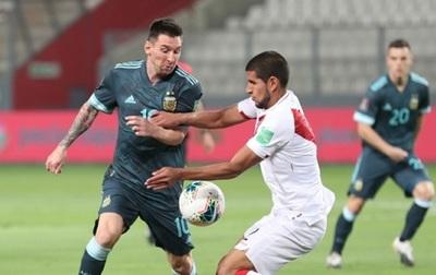 Argentina triunfa en Lima ante Perú