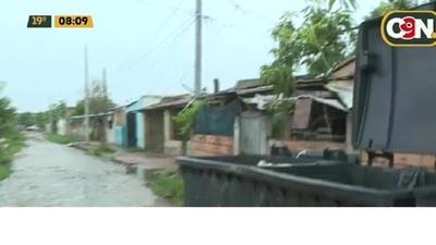 Vecinos del barrio San Cayetano están sin energía eléctrica desde el sábado pasado