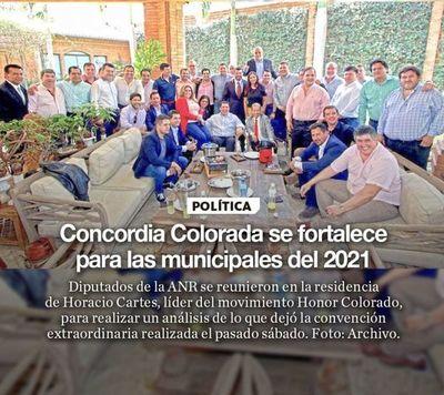 Concordia Colorada se fortalece para las municipales del 2021