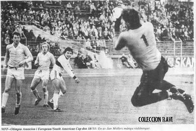 """""""Campeón del Mundo"""": Hace 41 años, Olimpia dio el primer paso"""