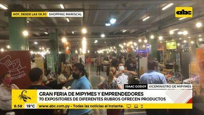 Gran feria de mipymes y emprendedores en el shopping Mariscal