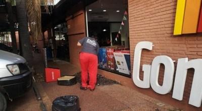 Fiscal estudia posible imputación a guardia que evitó asalto a local comercial disparando al delincuente en el pie