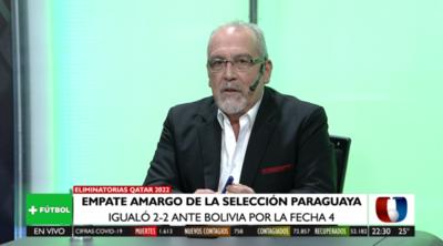 """""""Paraguay no mereció ganar el partido"""": Análisis de J.J. Bernabé en Más Fútbol"""
