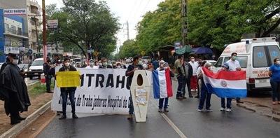Huelga de funcionarios de Clínicas
