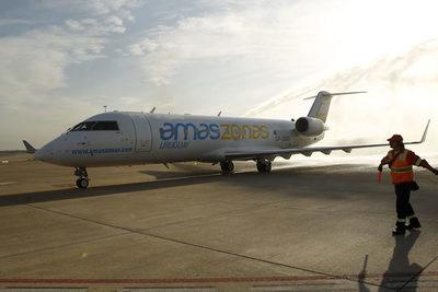 Amaszonas Uruguay suspende sus vuelos hasta la reapertura de fronteras