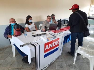 ANDE fracciona el pago de servicios mientras avanzan trabajos en el Chaco