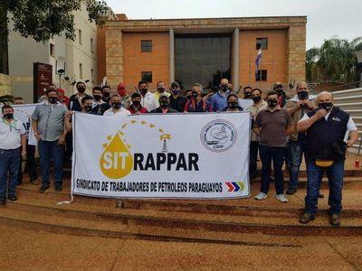 Guairá: Sindicatos de Petropar exigen levantar imputación de sus compañeros
