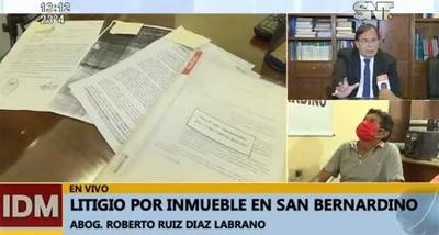 Condenado asegura ser dueño de tierras en litigio en San Bernardino
