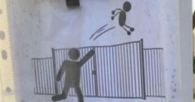 La insólita petición de un colegio francés a los apoderados: 'No lancen a los niños por la reja'