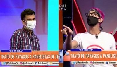 Dr. Medina estalló contra Sebas Rodríguez