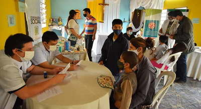 Brindaron atención médica gratuita en Caazapá
