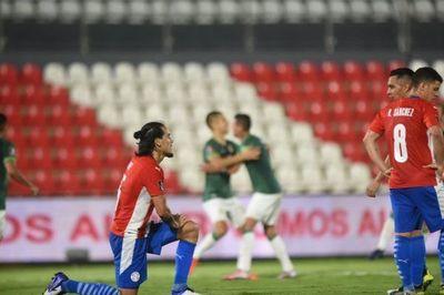 Paraguay decepcionó y no pasó del empate ante Bolivia