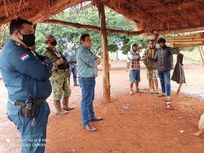 Acuerdan tregua mientras se busca solución a un conflicto de tierra entre productores e indígenas