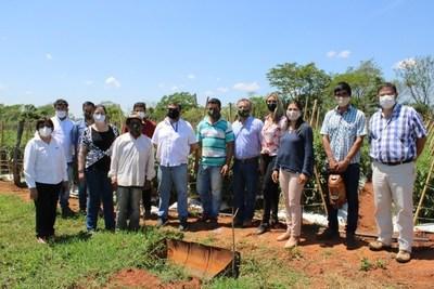 Instituciones apoyan muy de cerca a productores agrícolas de Caaguazú