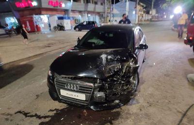 Un herido tras choque ocurrido sobre Mcal. López