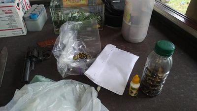 Encarnación: Fiscal allana vivienda e incauta cocaína y varias evidencias dentro de una investigación