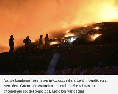 Aprueban seguro médico e indemnización a bomberos