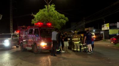 Roce entre vehículos ocasiona triple choque sobre Mariscal López
