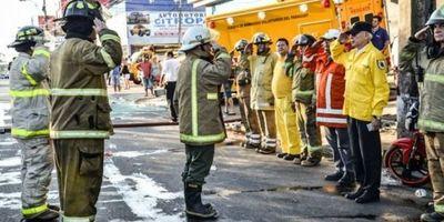 Aprueban seguro médico para bomberos voluntarios