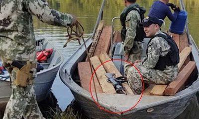 Dos bandidos reducen a militar y le roban su fusil M4 y una pistola – Diario TNPRESS