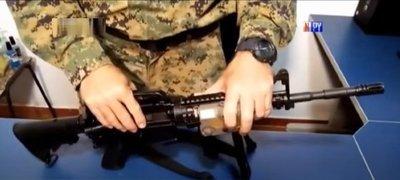 Roban arma de guerra a militar en Ciudad del Este