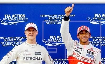 HOY / Hamilton y Schumacher, dos brillantes versiones del automovilismo