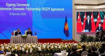 Un éxito para Pekín el acuerdo comercial de China con 14 países de la región