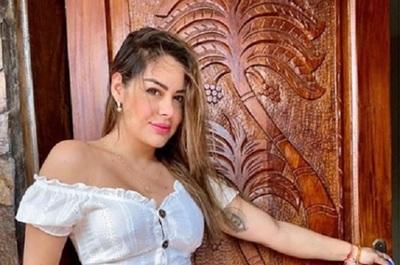 Larissa Riquelme tomó un curso de periodismo deportivo