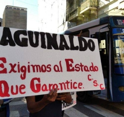 HOY / Corriente Sindical Clasista exige pago de aguinaldo a trabajadores suspendidos