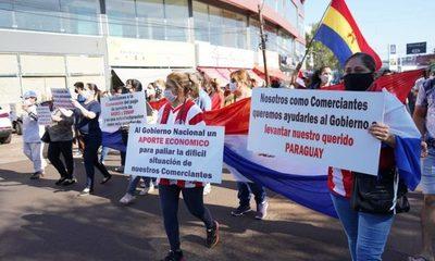 Siguen las manifestaciones en el Sur solicitando el pytyvô comercial